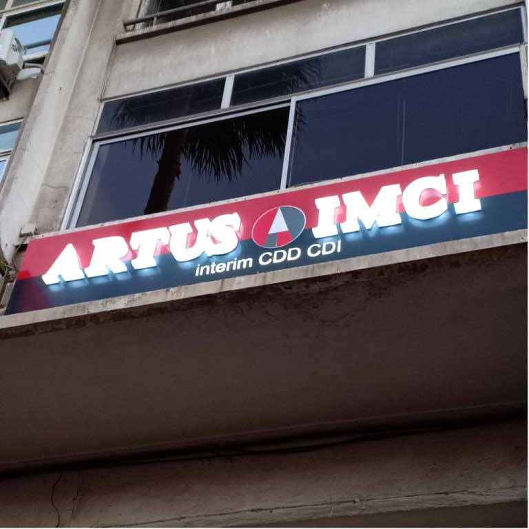 Panneau Publicitaire artus